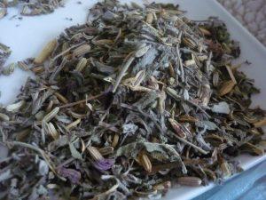 Mélange d'herbes pour sauna facial