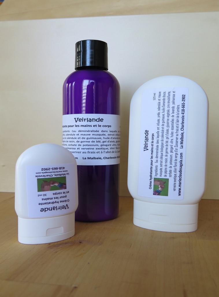 Veirlande, crème hydratante pour les mains et le corps